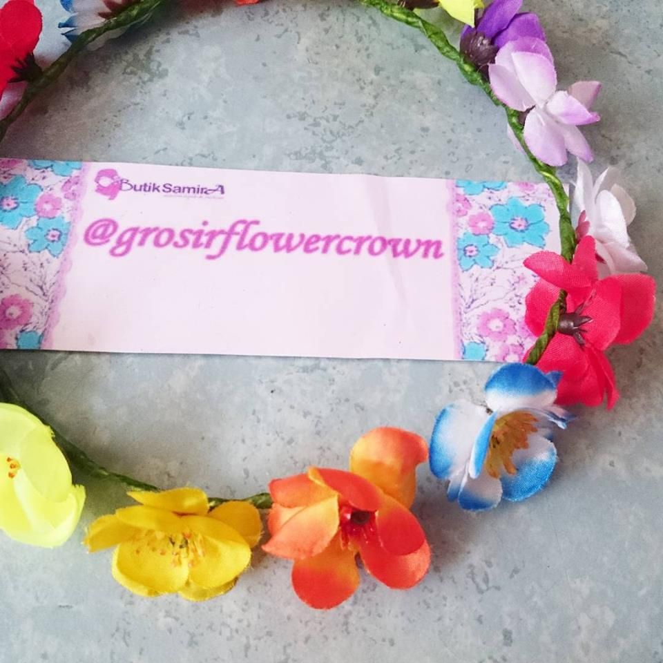 Grosir flower crown bridal mahkota bunga bando murah flower crown grosir flower crown bridal mahkota bunga bando murah izmirmasajfo Image collections