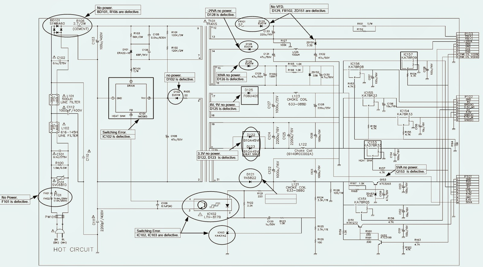 hight resolution of lg lst 3510a set top box circuit diagram