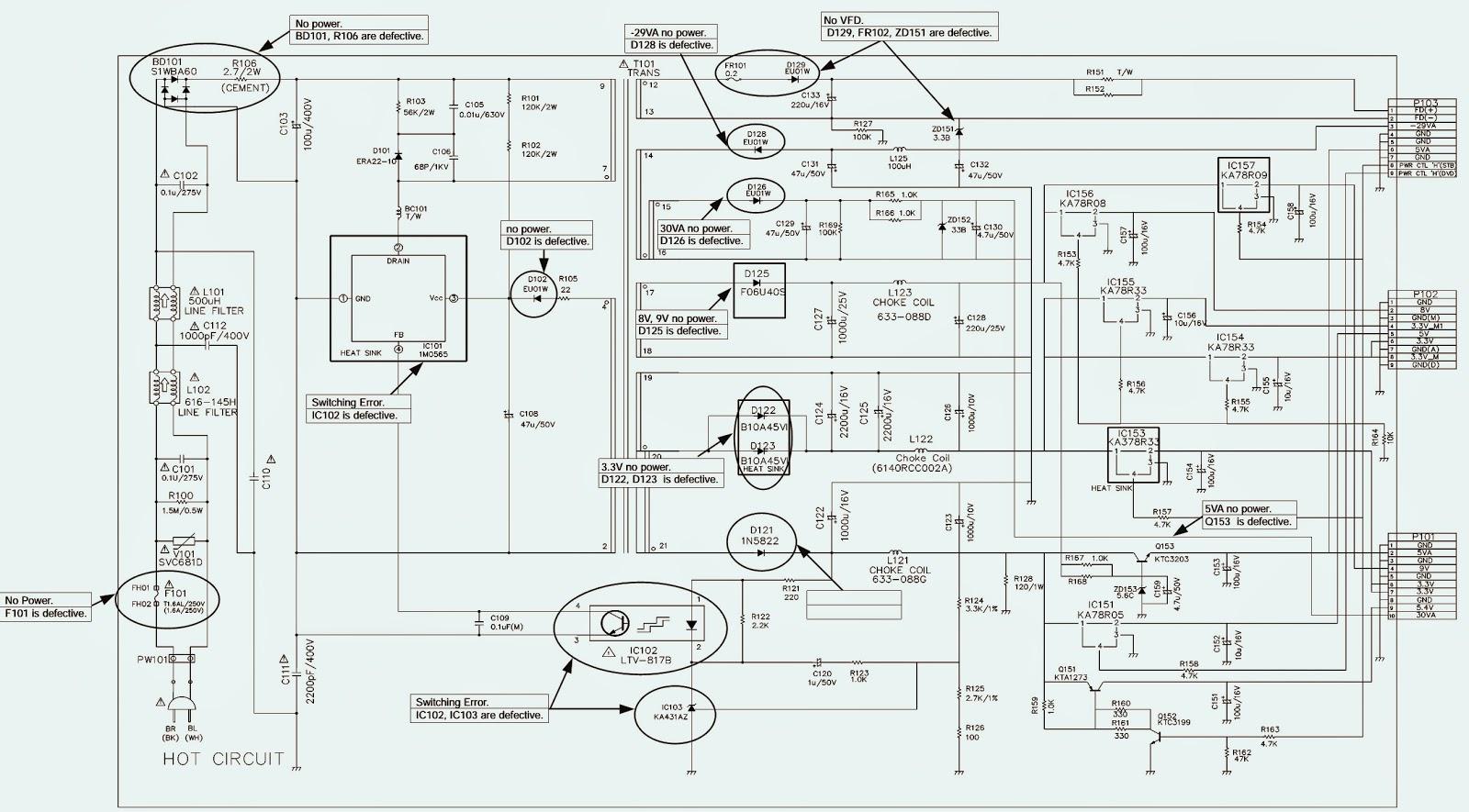 medium resolution of lg lst 3510a set top box circuit diagram