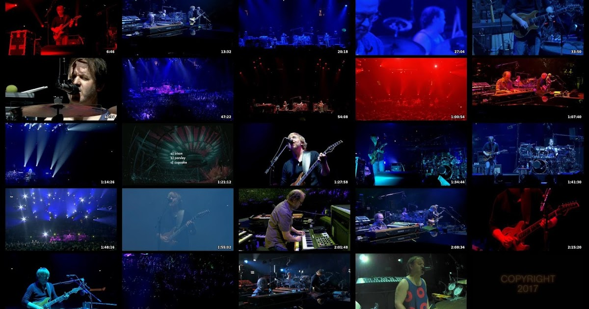 The Curtain With Phish 2017 12 30 Madison Square Garden New York Ny Webcast Rip