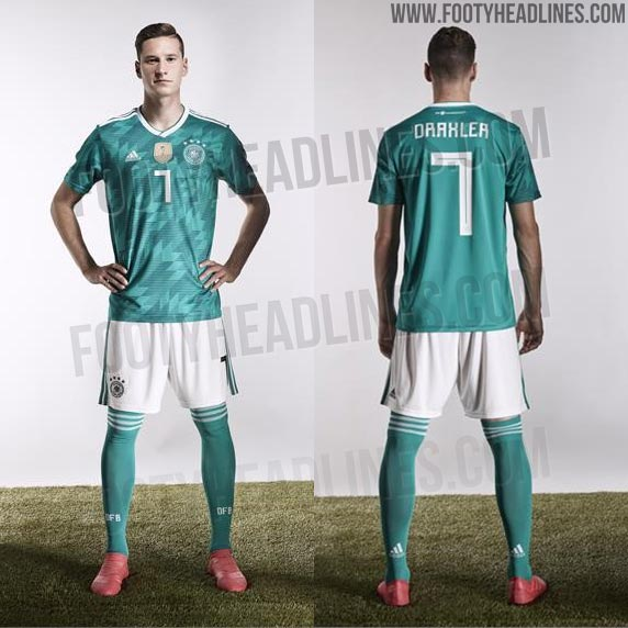 Are you happy to see Germany return to a green away kit for the 2018 World  Cup in Russia  Drop us a line below f51167162