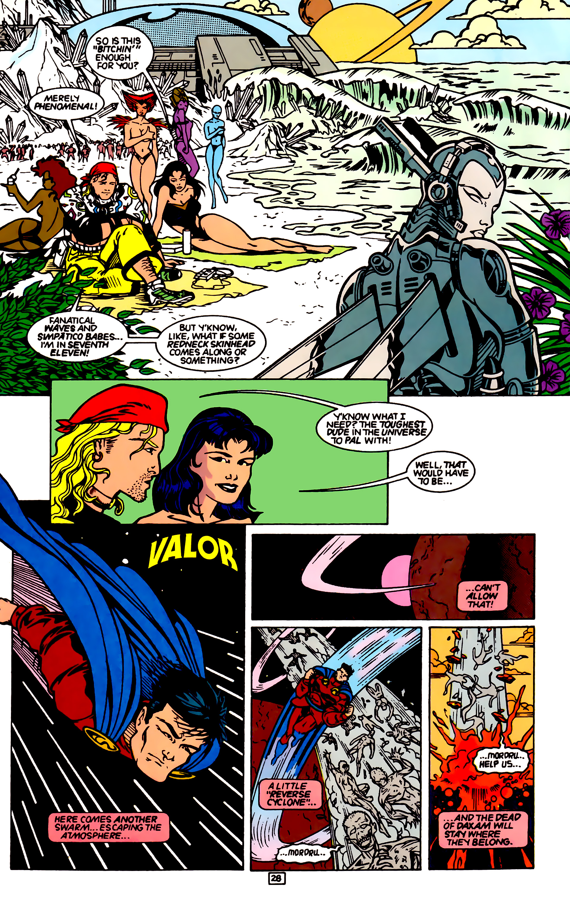 Legion of Super-Heroes (1989) _Annual_4 Page 28