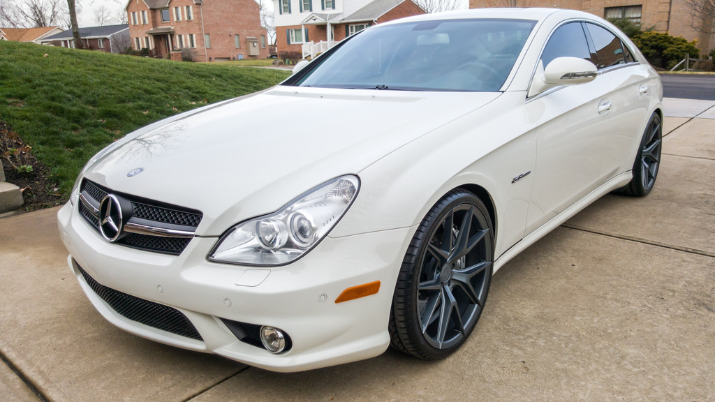 2008 mercedes benz cls 63 amg on verde axis wheels benztuning. Black Bedroom Furniture Sets. Home Design Ideas