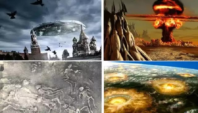 Ανουννάκι,Πυρηνικό Ολοκαύτωμα,Τη μέρα, στερούσε τη γη από το λαμπερό ήλιο, το βράδυ τ' αστέρια δεν έλαμπαν.