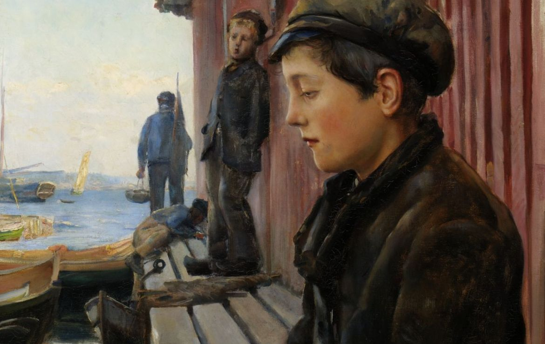 Hans Heyerdahl Fiskergutten C