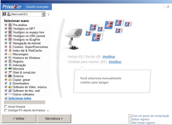 Faça uma limpeza profunda em seu computador com o Privazer