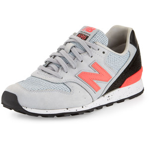 Embossed leather sneaker gray/ pink, USD 225 from New Balance