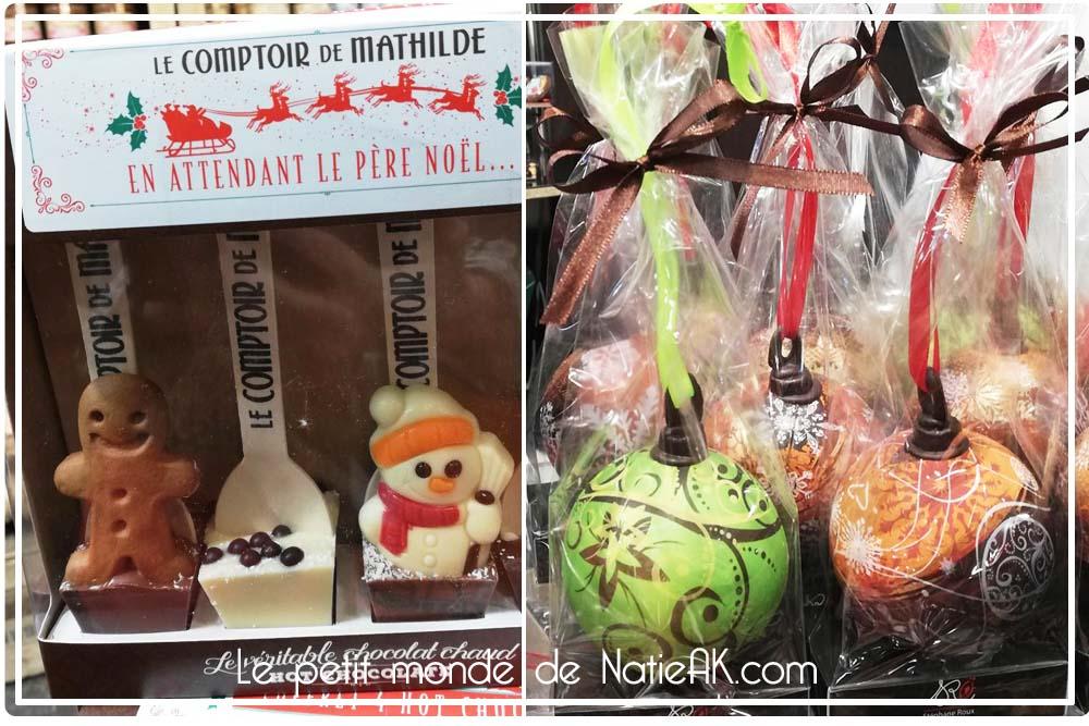 chocolat de Noël Le comptoir de Mathilde et  Stéphane Roux