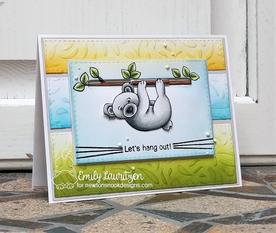 Let's Hang Out by Emily features Hanging Around by Newton's Nook Designs; #newtonsnook