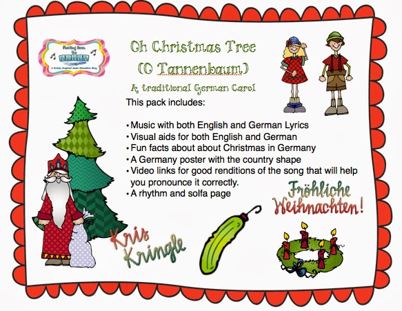 O Christmas Tree In German.Christmas Activities What I Do In My Classes Including The Twelve