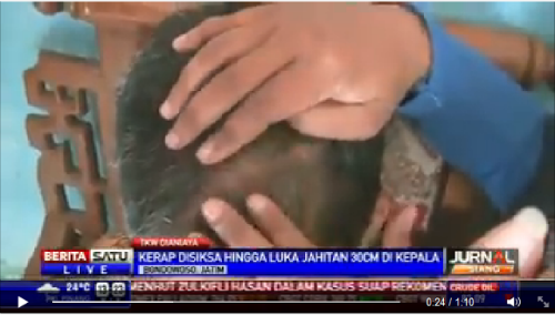 Amah Indonesia Dakwa Di Pukul Raja Bomoh 1Malaysia