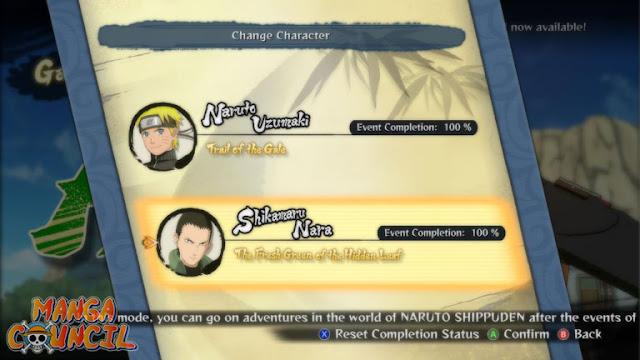 Naruto SUN Storm 4 Save Game Update b