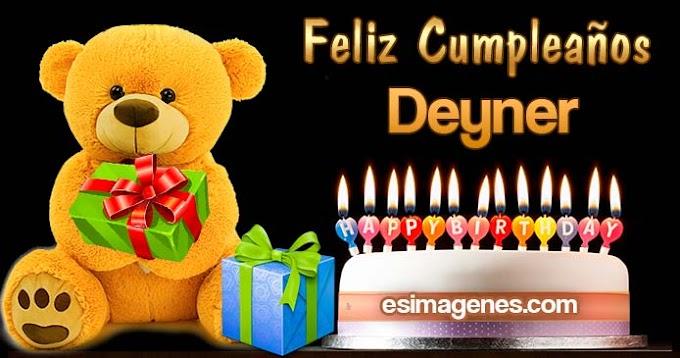 Feliz Cumpleaños Deyner