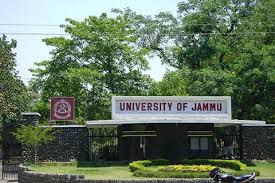 Cluster University of Jammu Recruitment