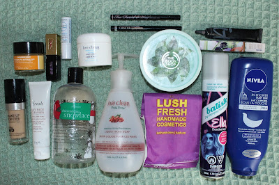 March 2017 Empties