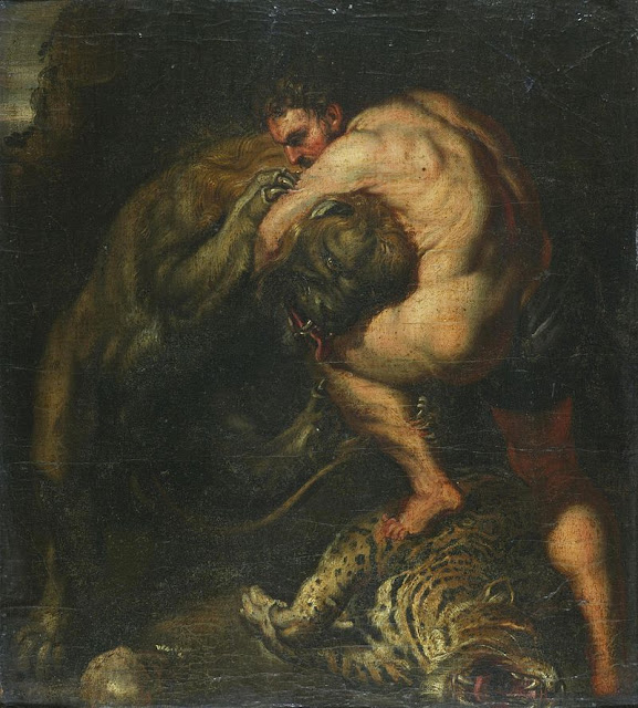 Pieter Paul Reubens Hercules and the Nemean Lion