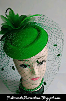 Green fascinator hats for sale in Kenya