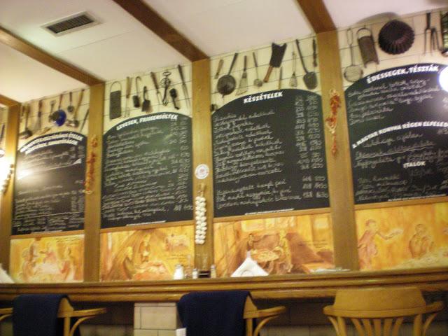 Restaurantes Kisharang restaurante tradicional en Budapest