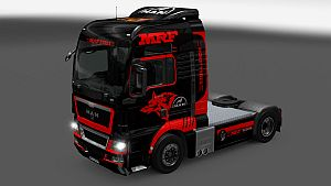 MRF Tyre skin for MAN TGX
