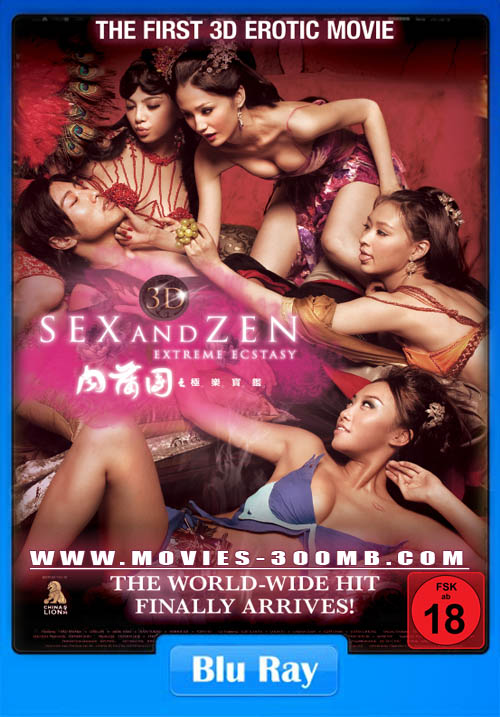 Sex and Zen: Extreme Ecstasy 2011 BluRay 300MB Poster