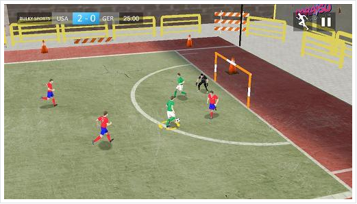 Street Soccer 2015 APK for Android 4.3++