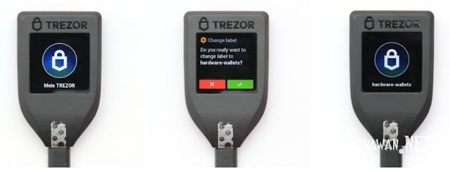 Instalasi Perangkat Wallet Trezor Model T