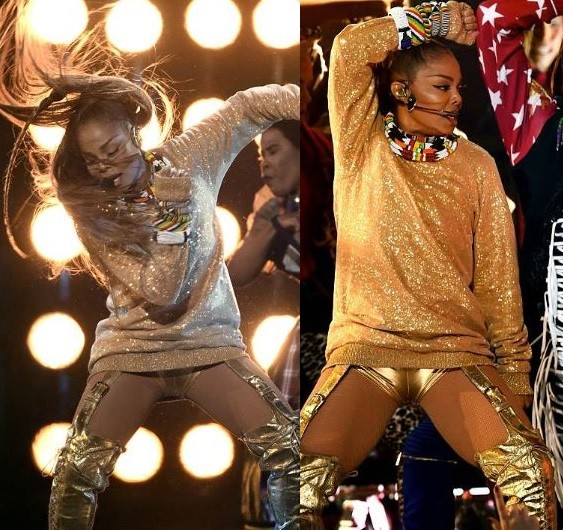 Photos from Janet Jackson's sexy and electrifying performance at the Billboard Music Awards