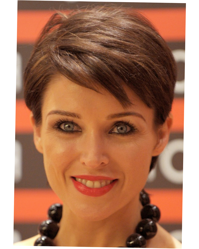 womens short haircuts for thick thin hair round face - ellecrafts