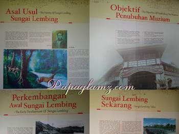Tarikan Menarik di Muzium Sungai Lembing