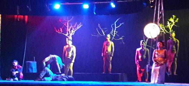 IMG 20170104 WA0023 A Drama Play at the Stage of Mathkhai Mahotsav, Balangir