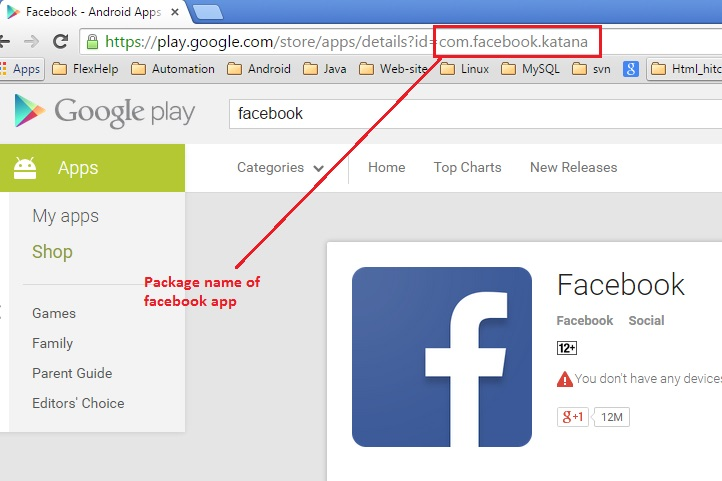 QA HUMOR: Android : How to get the package name of Android application