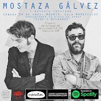 Concierto de Mostaza Gálvez en Maravillas Club