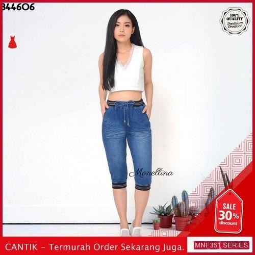 MNF361C109 Celana 344606 Wanita Denim Jogger Celana terbaru 2019 BMGShop