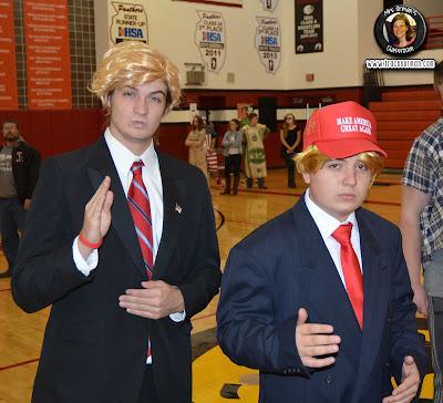 Trump Halloween costume