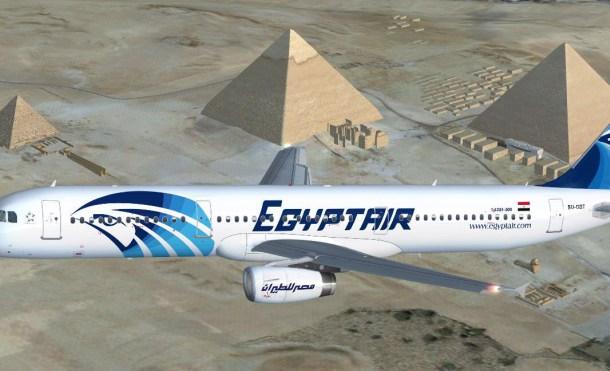 Desaparece un avión con vuelo entre París y El Cairo de los radares, vuelo  MS804 EGYPTAIR