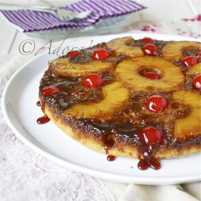Adora S Box Pineapple Upside Down Cake