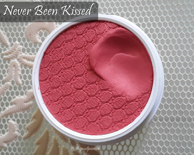 Colour Pop Super Shock Cheeks Never Been Kissed Swatch