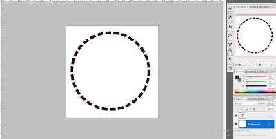 Cara Membuat Garis Putus-Putus Menggunakan Photoshop