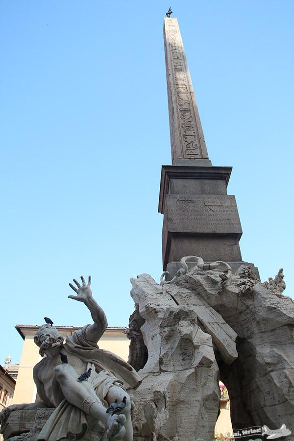 Fontana dei Quattro Fiumi de Bernini.