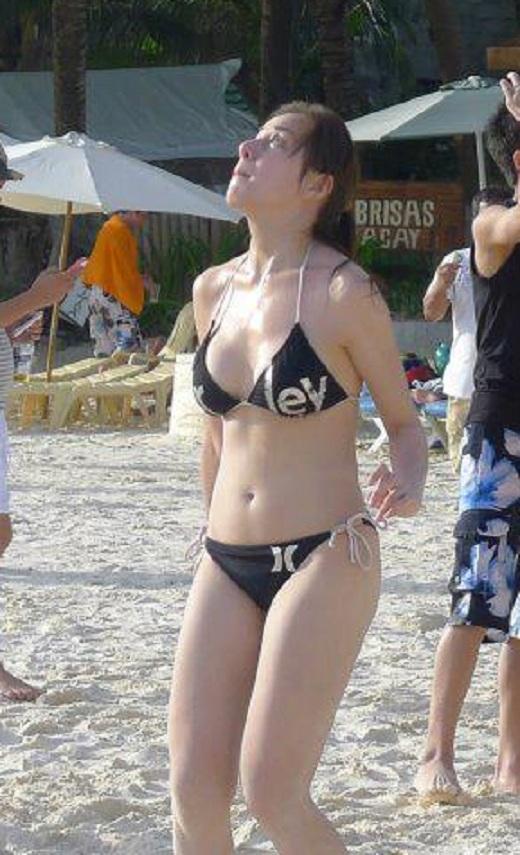 Kanomatakeisuke Cristine Reyes  Hot Beach Bikini Photos-9043