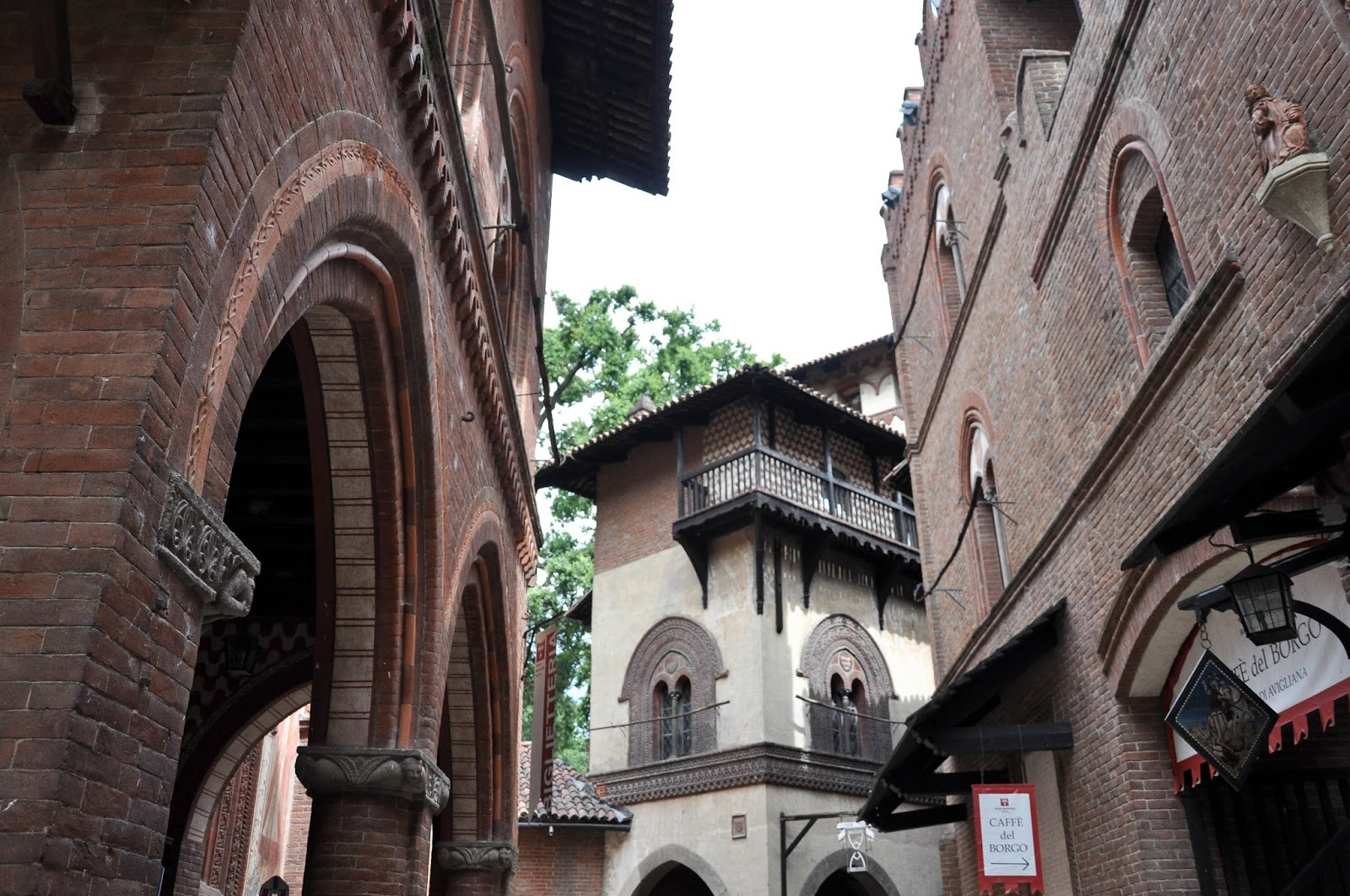Borgo Medievale, Parco del Valentino, Turin, Italy