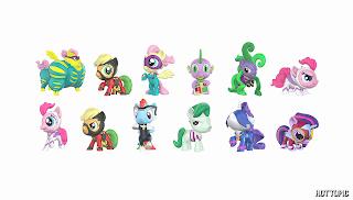 MLP Power Ponies Funko Mystery Minis