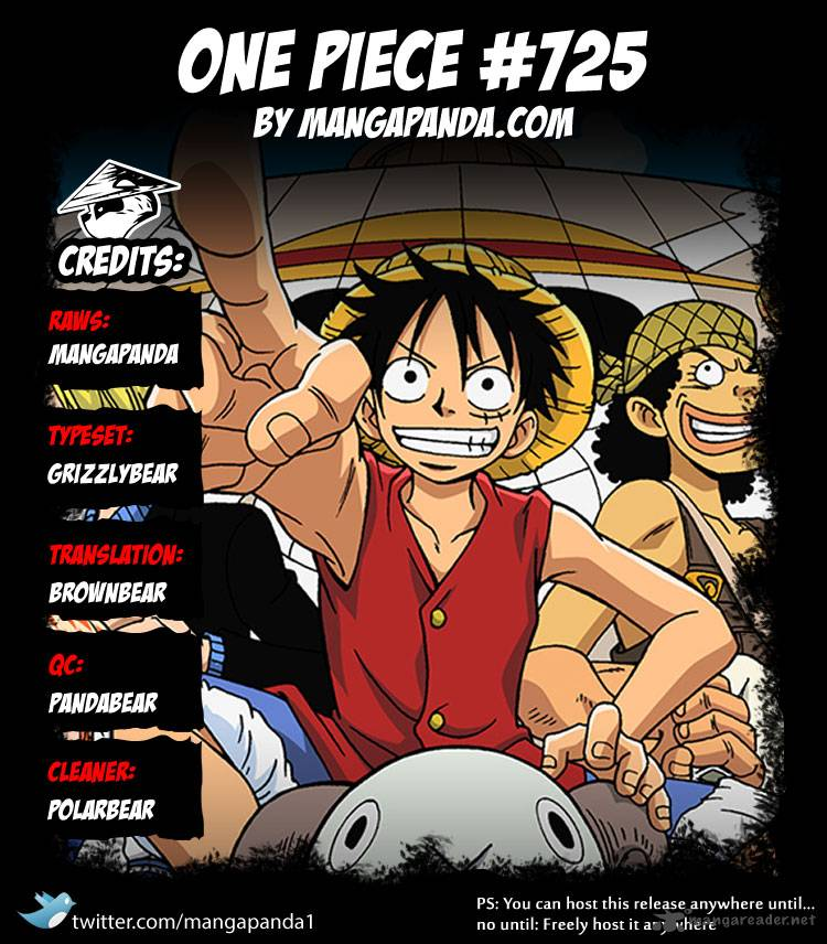 One Piece Ch 725: The Undefeated Woman