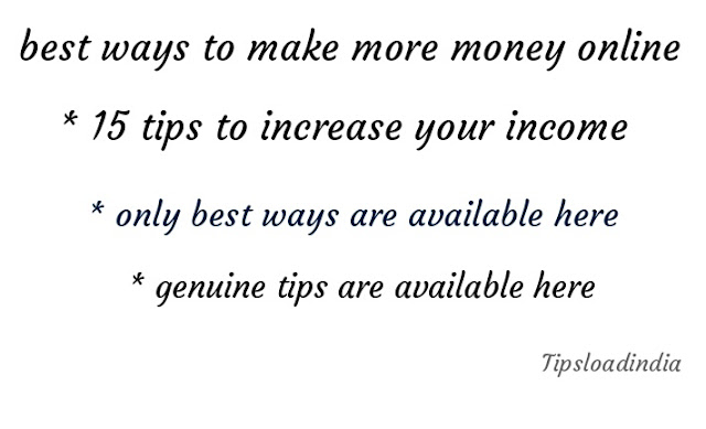Make more money, money, best ways to make more money,