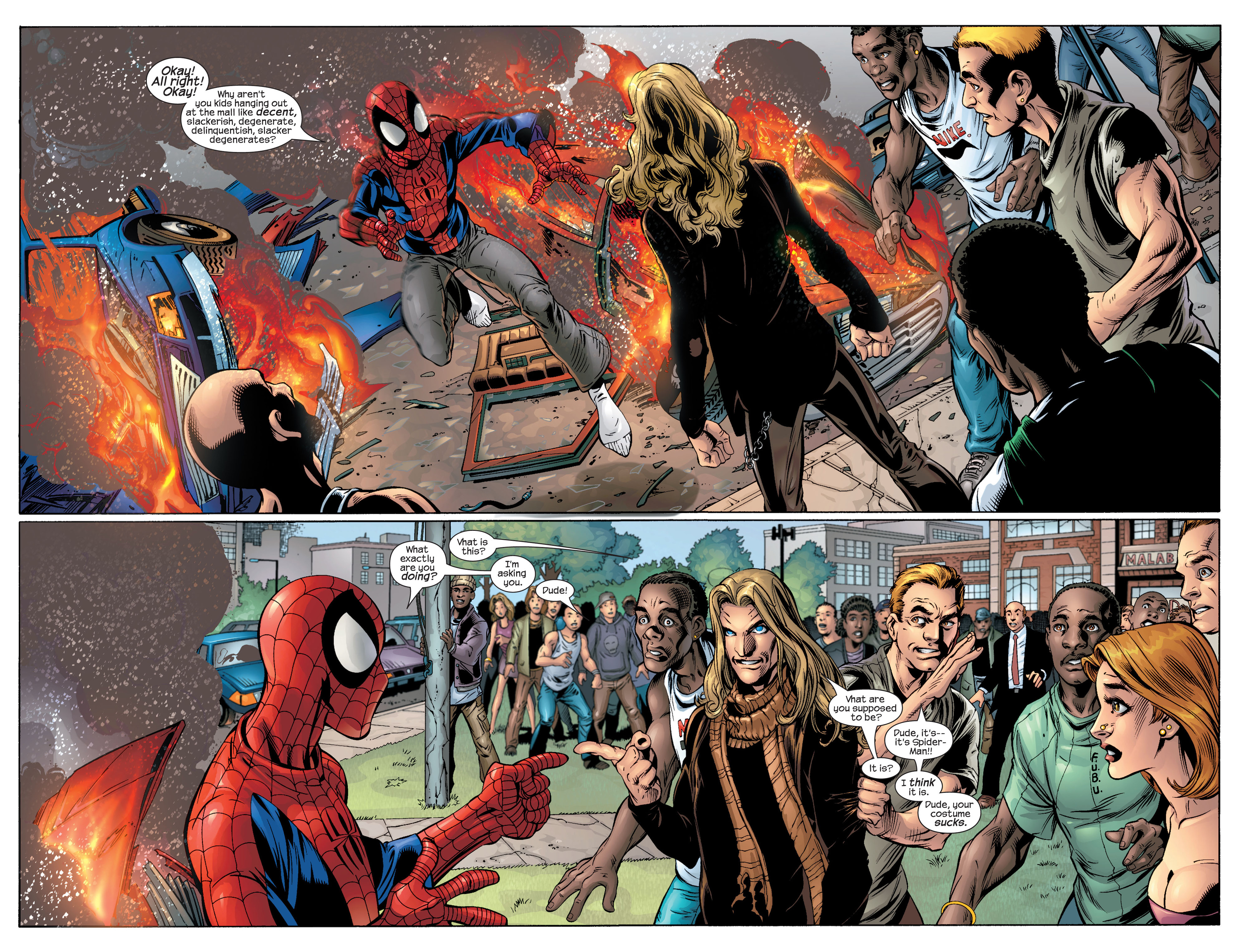 Read online Ultimate Spider-Man (2000) comic -  Issue #42 - 5