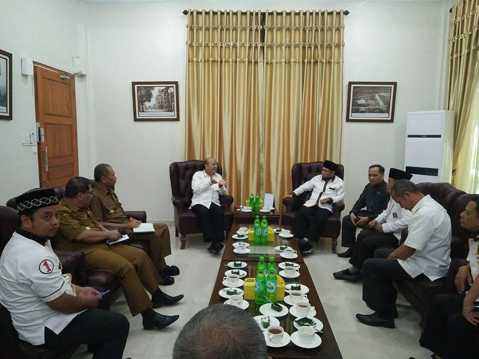 Bertemu Walikota, PKS Sampaikan Aspirasi Warga Medan