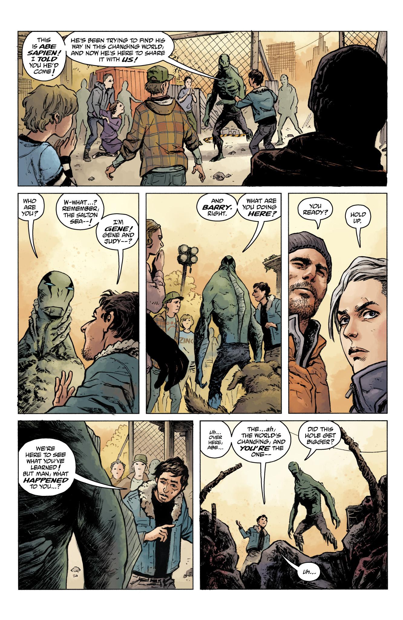 Read online Abe Sapien comic -  Issue #16 - 9
