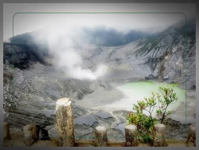 Melirik Keindahan Tempat Wisata Alam Gunung Tangkuban Perahu di Bandung
