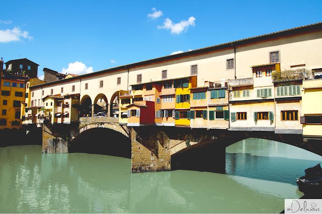 most złotników, włochy, florencja, firenze, italia, italy