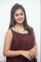 Nikki Galrani in a Brown Shining Sleeveless Gown at Nakshatram music launch ~  Exclusive 067.JPG